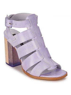 Fioletowe sandały Miista