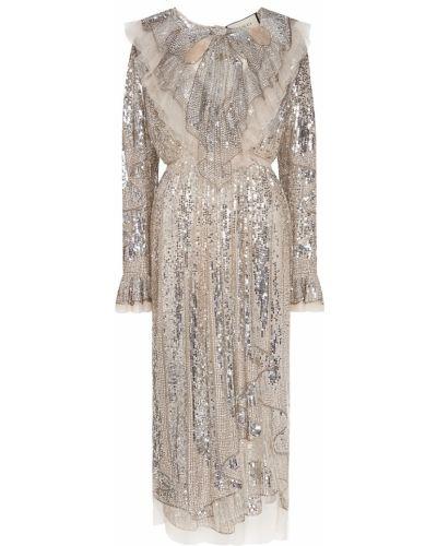 Вечернее платье миди винтажная Gucci