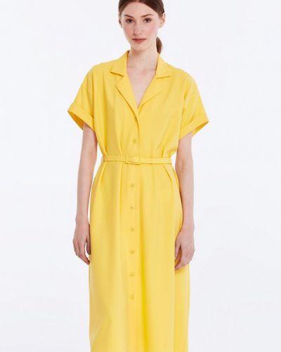 Желтое платье весеннее Musthave