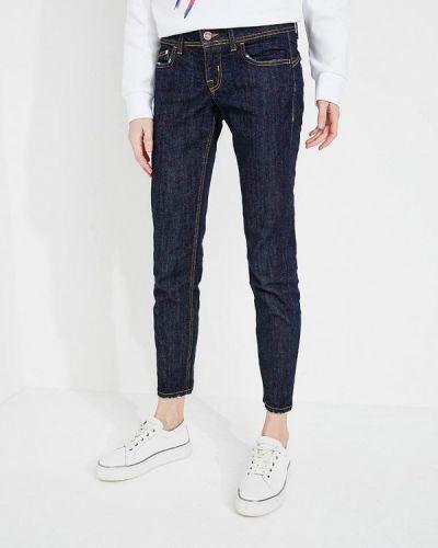 Синие джинсы-скинни Iceberg