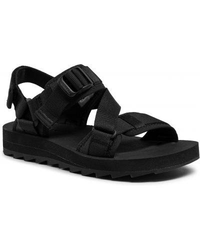 Czarne sandały na lato Merrell