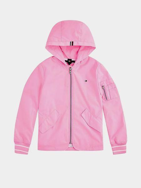 Розовая куртка Tommy Hilfiger