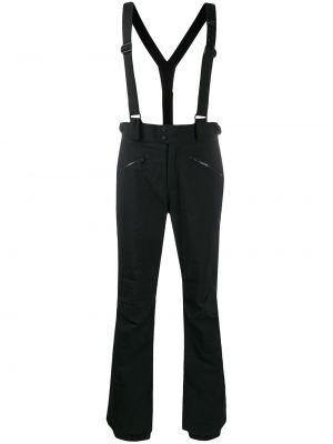 Черные прямые брюки с карманами на молнии с высокой посадкой Rossignol