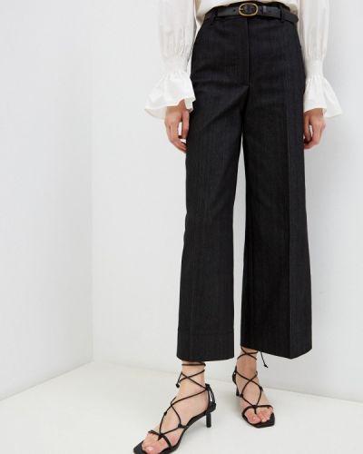 Серые джинсы клеш расклешенные Akris Punto