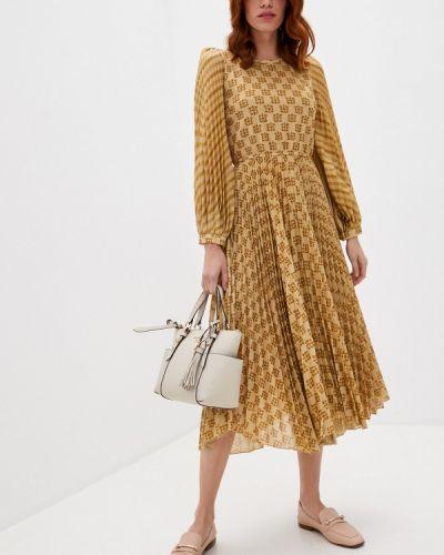 Вечернее платье золотое Beatrice.b