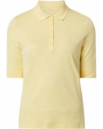 Żółty t-shirt bawełniany Christian Berg Women