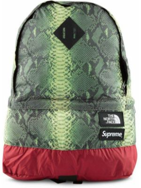 Zielony plecak miejski z nylonu Supreme