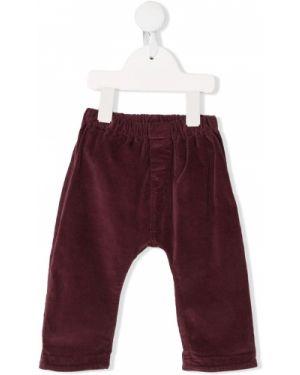 Czerwone spodnie bawełniane Aletta