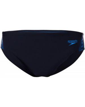 Гипоаллергенные синие спортивные спортивные шорты Speedo