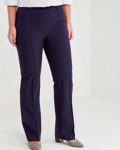 Синие брюки прямые Kr
