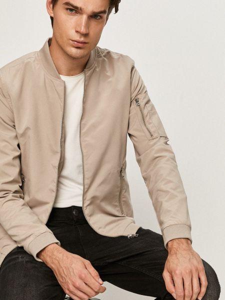 Бежевая куртка с карманами с декоративной отделкой Jack & Jones