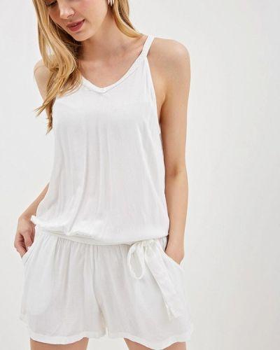 Комбинезон с шортами - белый Bruebeck
