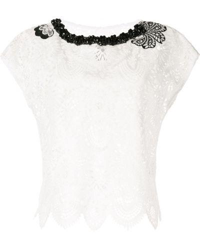 Блузка кружевная короткая Antonio Marras