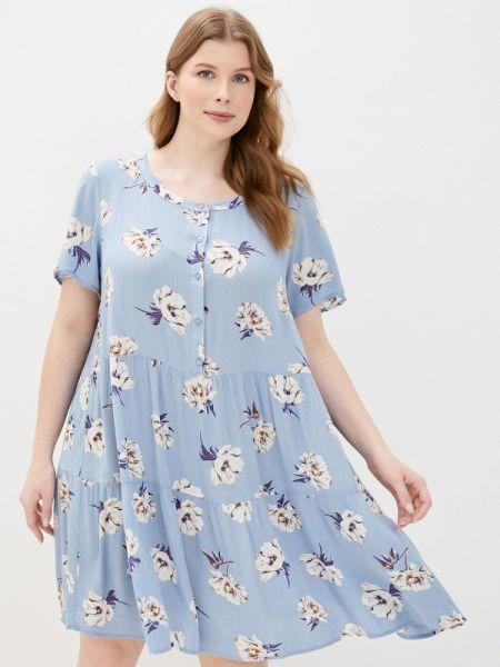 Повседневное платье весеннее Zizzi