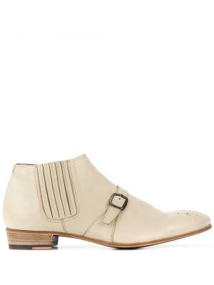 Кожаные ботинки с пряжкой Lidfort