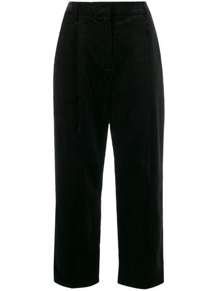 Укороченные брюки вельветовые свободные Ymc