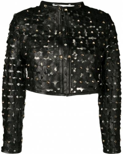 Куртка черная укороченная Caban Romantic