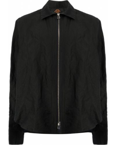 Рубашка на молнии шелковая L'eclaireur