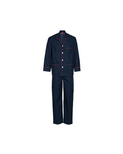 Пижама хлопковая синий Isaia