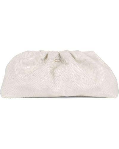 Белая кожаная сумка на молнии Giuseppe Zanotti