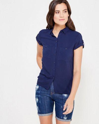 Синяя блузка Oodji