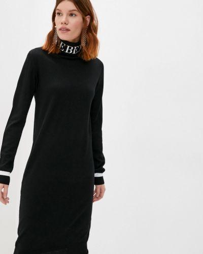 Вязаное черное платье Iceberg
