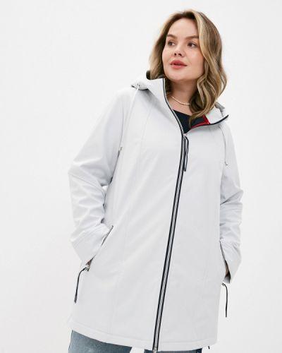 Облегченная серая куртка Ulla Popken