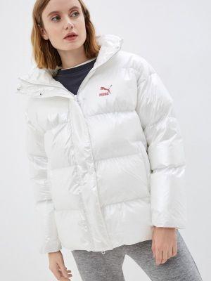 Утепленная куртка - белая Puma