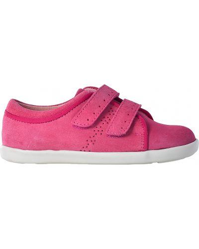 Кеды розовый кожаный Jacadi Paris