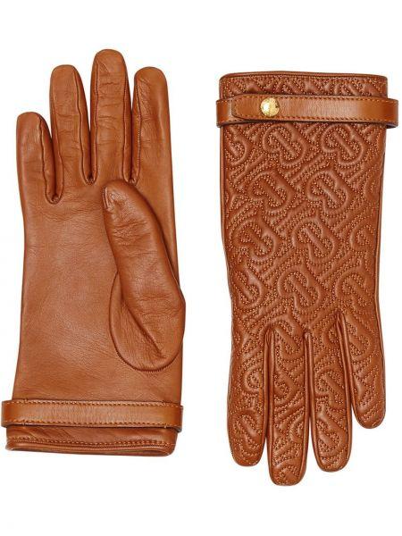 Перчатки с подкладкой Burberry