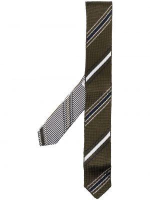 Krawat z jedwabiu - biały Thom Browne