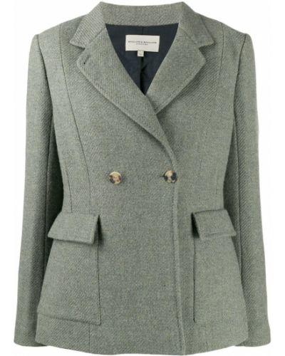 Приталенный классический пиджак с карманами Holland & Holland