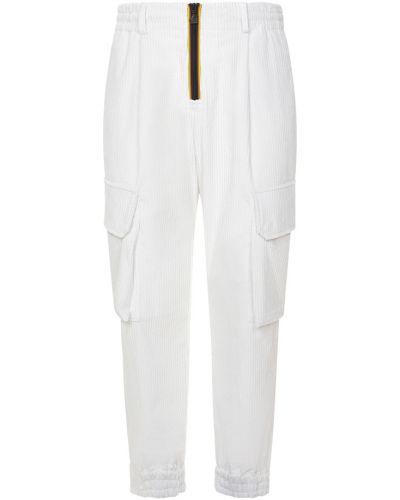 Białe spodnie K-way
