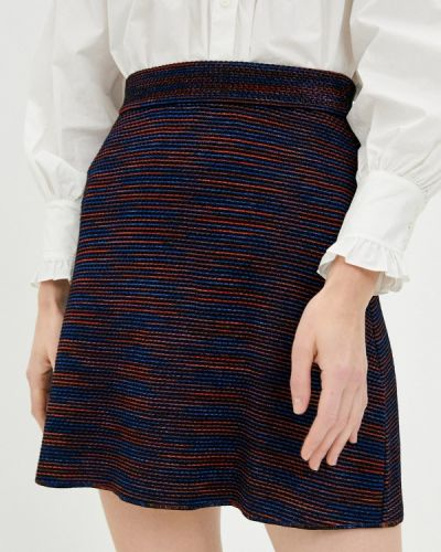 Синяя юбка свободного кроя Missoni
