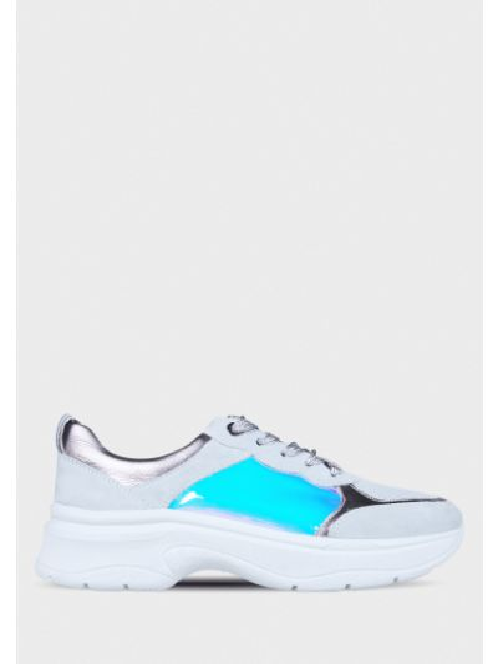 Текстильные кроссовки - серые Ara
