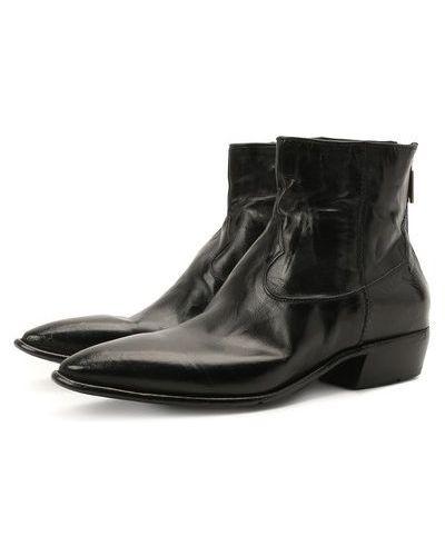 Кожаные ботинки с подкладкой Lemargo