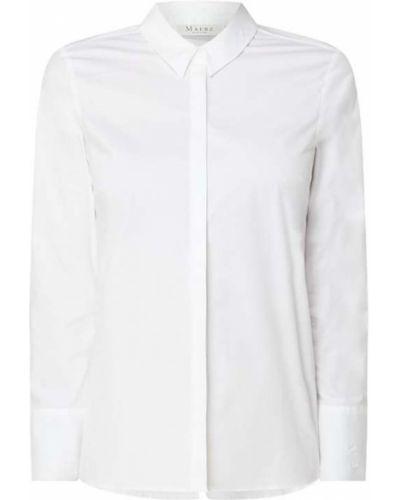 Biała bluzka asymetryczna bawełniana Maerz Muenchen
