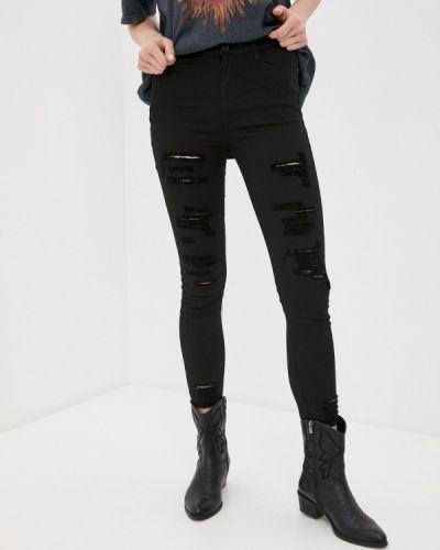 Черные джинсы-скинни узкого кроя G&g
