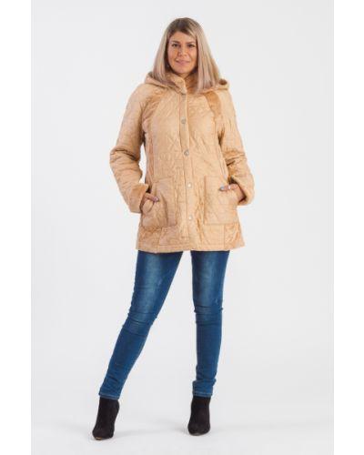Куртка с капюшоном утепленная джинсовая Lacywear