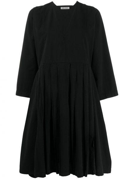 Платье макси оверсайз плиссированное Henrik Vibskov