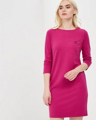 Розовое платье прямое Incity