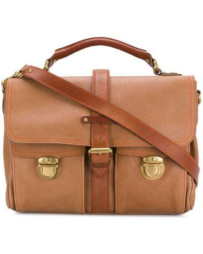 Кожаная сумка для ноутбука на плечо Marc Jacobs