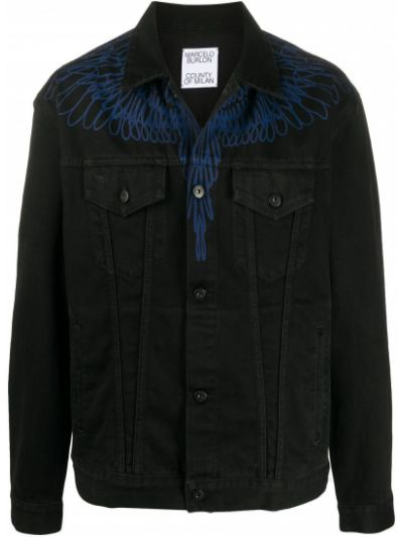 Dżinsowa jeansy Marcelo Burlon County Of Milan