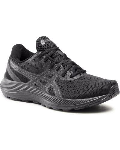 Buty sportowe z siateczką - czarne Asics