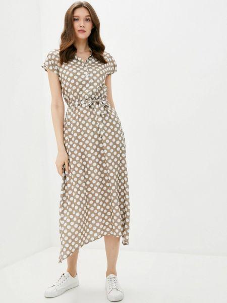 Бежевое платье Dizzyway