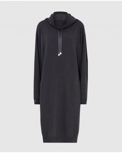 Шелковое платье - серое Peserico