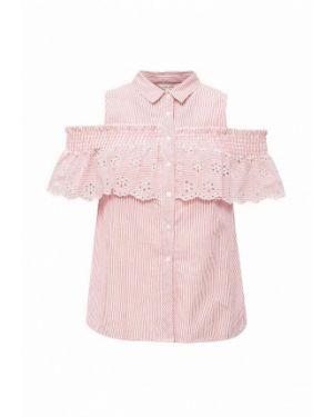 Розовая блузка с открытыми плечами River Island