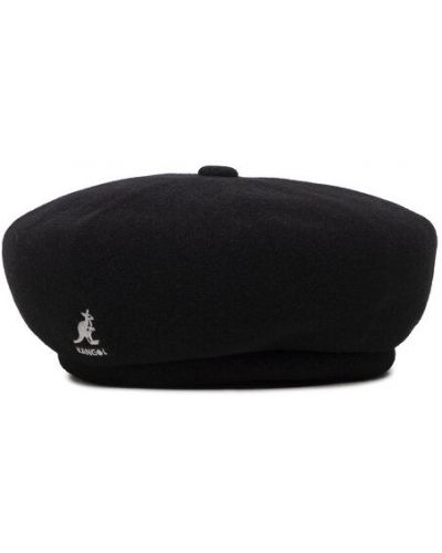 Czarna czapka wełniana Kangol