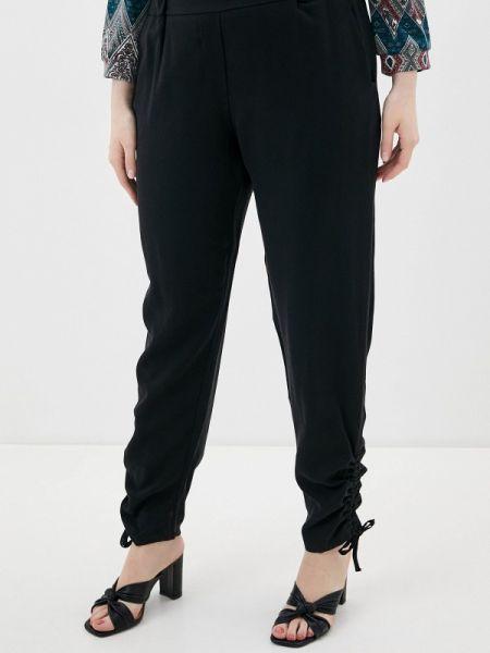 Черные брюки с воротником Kitana By Rinascimento