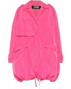 Różowy płaszcz Jacquemus